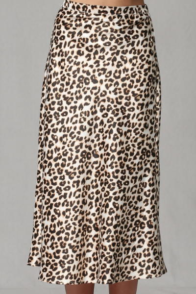MANHATTAN LEOPARD SKIRT