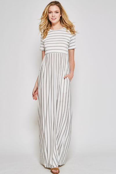 ELEANOR STRIPED MAXI