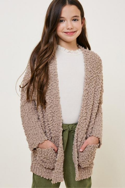 SHILOH CARDIGAN - GIRLS