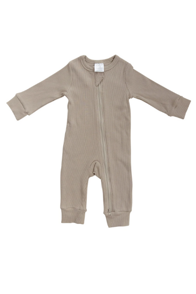 COVE ZIP SLEEPER - OATMEAL