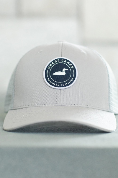 VINTAGE TRUCKER HAT - GREY