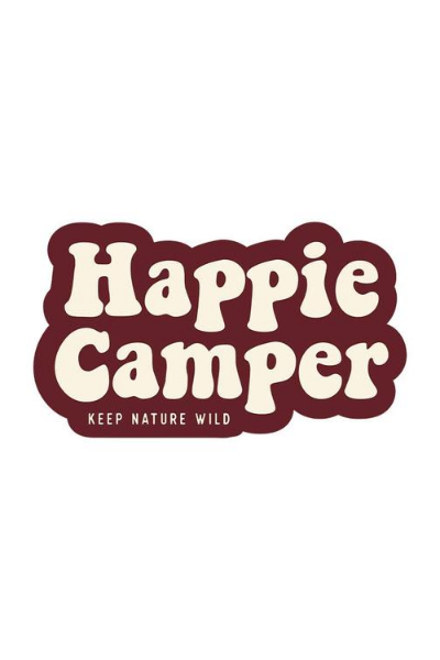 HAPPIE CAMPER STICKER