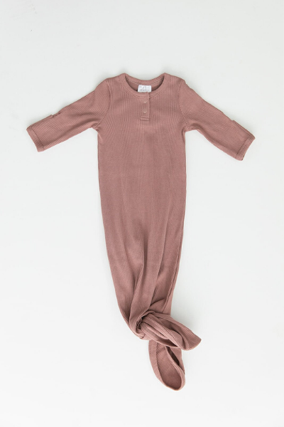 WOODS GOWN - DUSTY ROSE