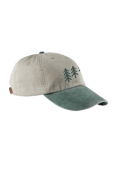 PINES HAT - STONE/FOREST