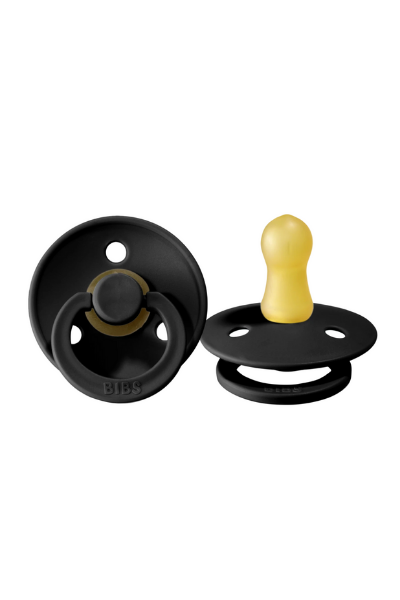 BIBS PACIFIER (2 PACK) - BLACK