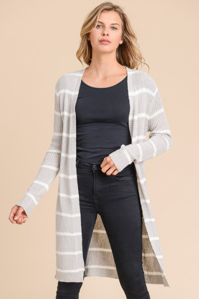 ANDI STRIPED SWEATER