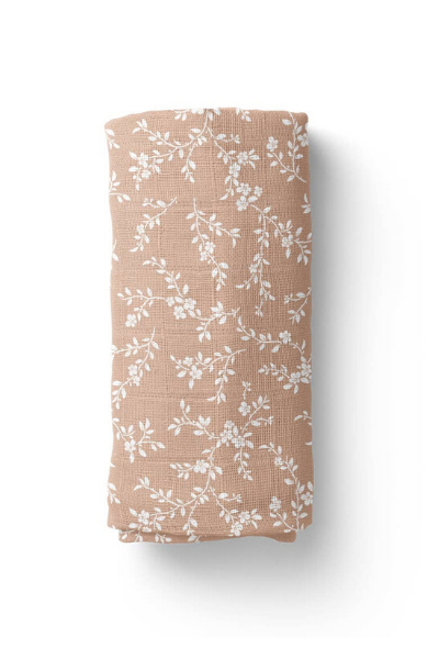BLOOM SWADDLE - PEACH