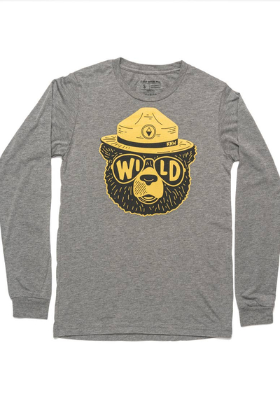 WILDBEAR UNISEX LONG SLEEVE