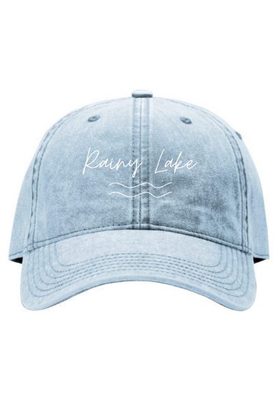 ARDEN DAD HAT - LIGHT DENIM