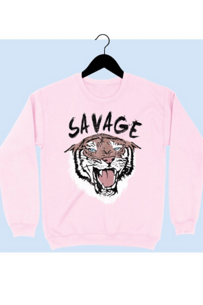 SAVAGE CREWNECK