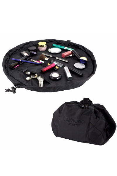"COSMO MAKE UP BAG (20"") - BLACK"