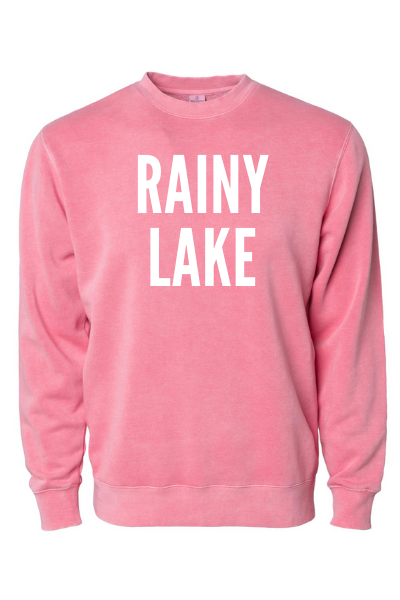 RAINY LAKE CREW - PINK