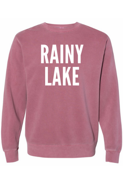 RAINY LAKE CREW - MAROON
