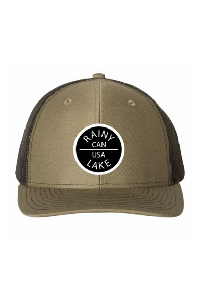 RAINY LAKE CIRCLE PATCH SNAPBACK - LODEN/BLACK