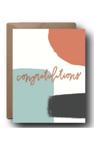 CONGRATULATIONS - ABSTRACT CONGRATS