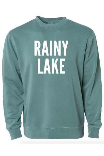 RAINY LAKE CREW - ALPINE GREEN