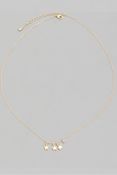 WISH UPON A NECKLACE - GOLD