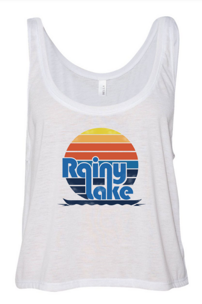 RAINY LAKE SUNSET TANK