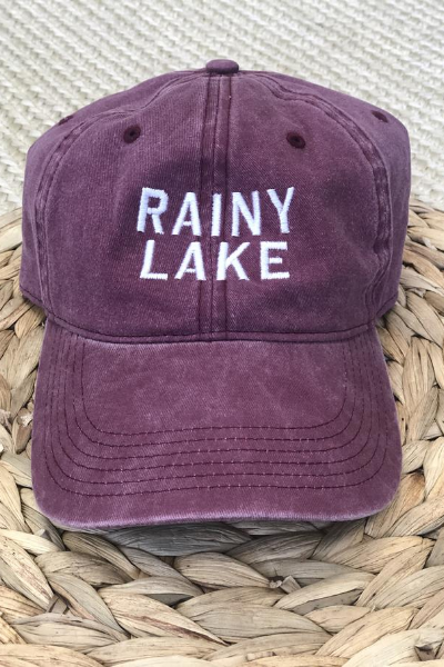 KEMPTON DAD HAT - MAROON