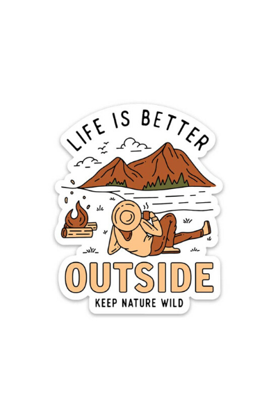 BETTER OUTSIDE - STICKER