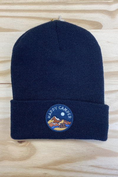 HAPPY CAMPER BEANIE - YOUTH/ADULT