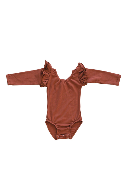 BECK L/S LEOTARD - RED
