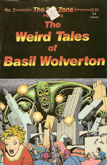 3-D Zone #  2 - The Weird Tales of Basil Wolverton
