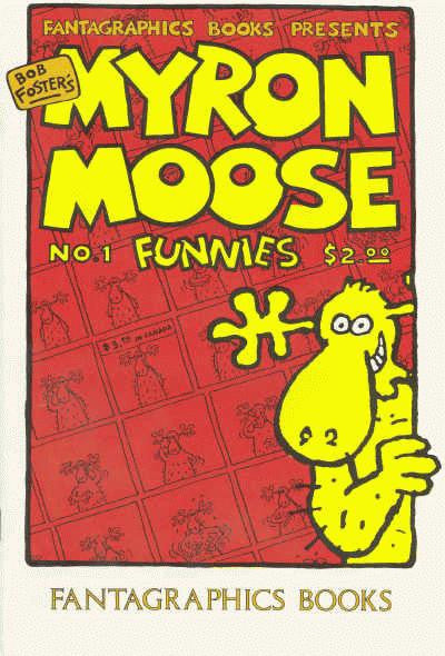 Myron Moose Funnies #  1