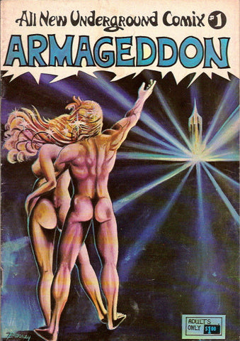 All New Underground Comix # 1 - Armageddon 2nd print