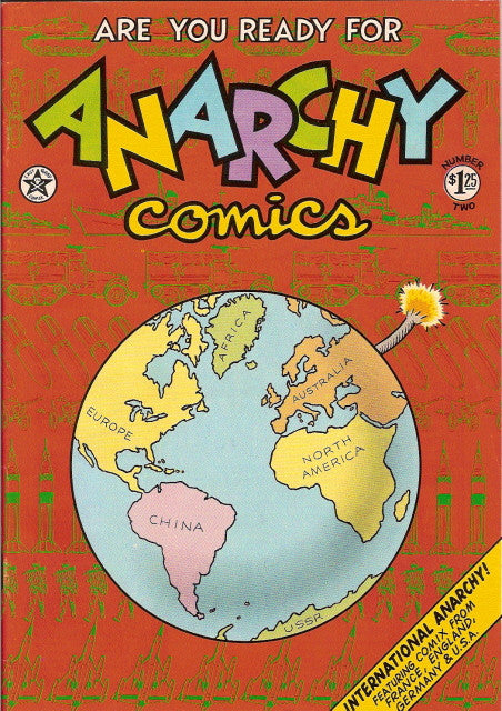 Anarchy Comics # 1, 2nd print