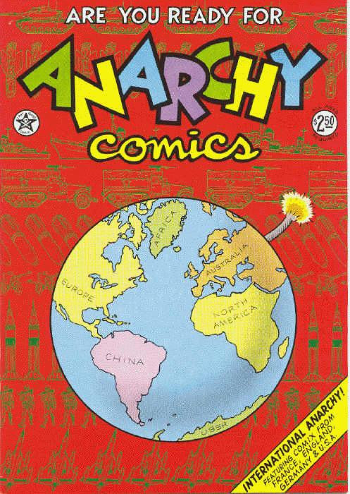 Anarchy Comics # 1, 3rd print