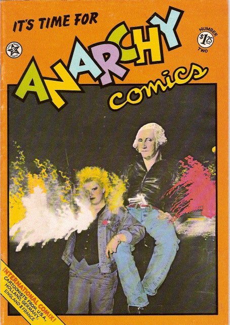 Anarchy Comics # 2, 1st print