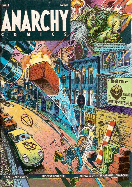 Anarchy Comics # 3, 2nd print