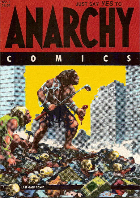 Anarchy Comics # 4