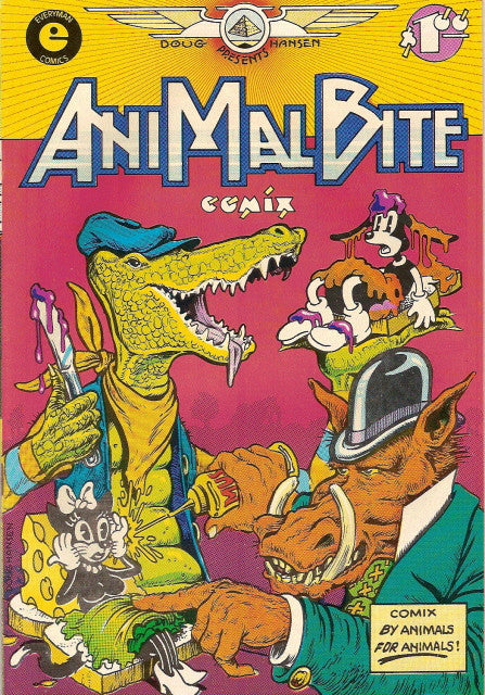 Animal Bite Comix - Signed by the Publisher