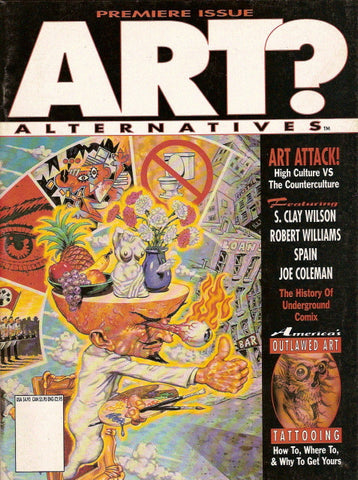 Art? Alternatives # 1 - Premiere Issue