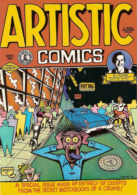 Artistic Comics, 4th print