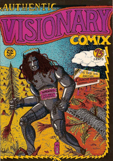 Authentic Visionary Comix # 1