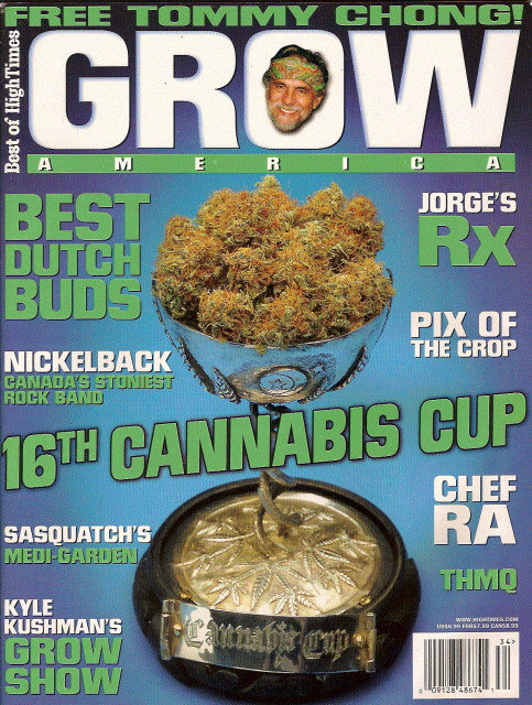 Best of High Times # 34 / Grow America # 1