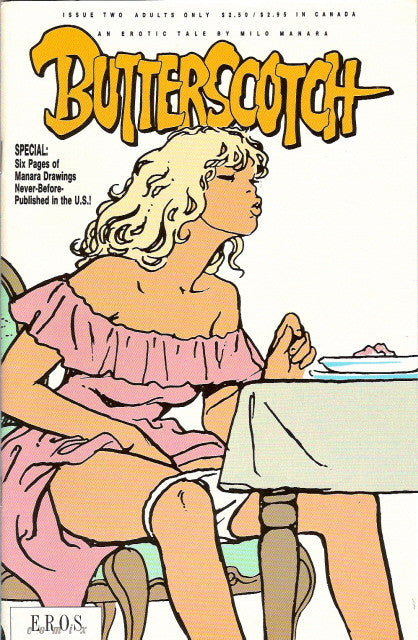 Butterscotch # 2 - Milo Manara