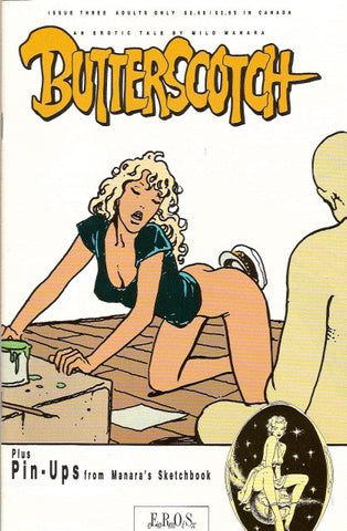 Butterscotch # 3 - Milo Manara