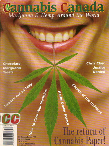 Cannabis Canada # 10 - Nov/Dec 1997