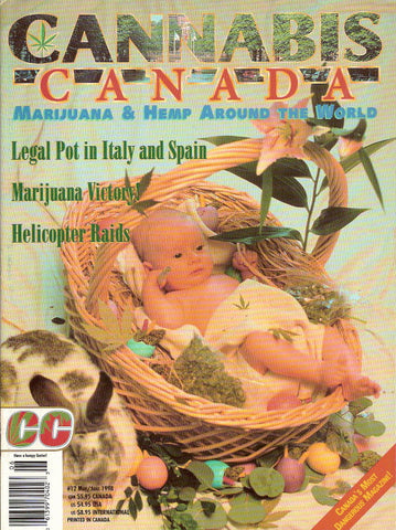 Cannabis Canada # 12 - May/June 1998