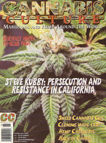 Cannabis Culture # 18 - May/June 1999