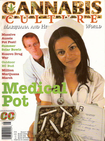 Cannabis Culture # 19 - July/Aug 1999