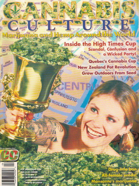 Cannabis Culture # 24 - March/April 2000