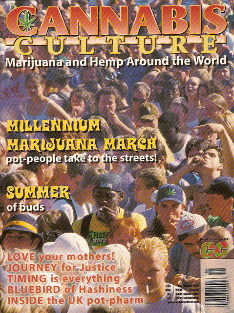 Cannabis Culture # 26 - July/Aug 2000