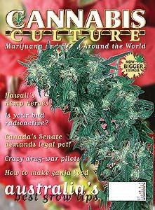 Cannabis Culture # 40 - Dec/Jan 2002/03
