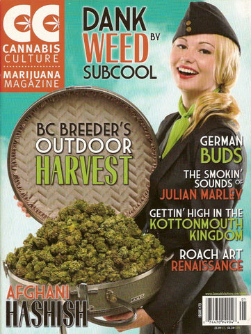Cannabis Culture # 73 - Jan/Feb 2009