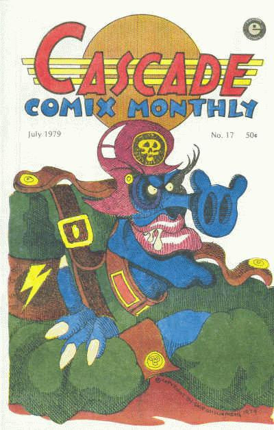 Cascade Comix Monthly # 17 - Signed